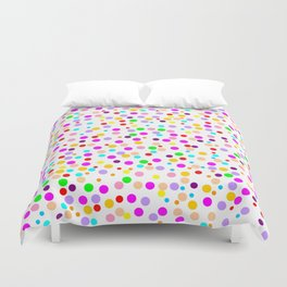 Colorful Rain 15 Duvet Cover