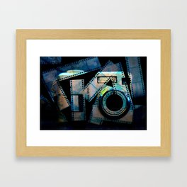 Digital Vs Physical Framed Art Print