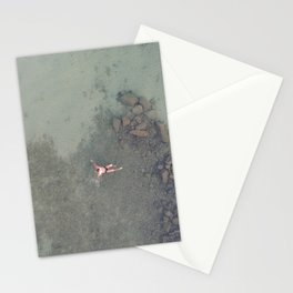 Aerial Swim Stationery Cards