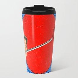 Cross Eye Woman Travel Mug