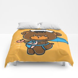 Sleazy Sam has a present for you! Comforters