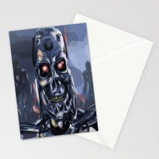Speed Portraits: Terminator T-800 Stationery Cards
