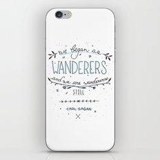 Wanderers iPhone & iPod Skin