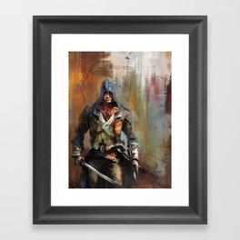 Portrait of Arno Dorian Framed Art Print