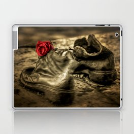 Shoes On The Danube Bank Art Laptop & iPad Skin