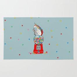 Unicorn Gumball Poop Rug