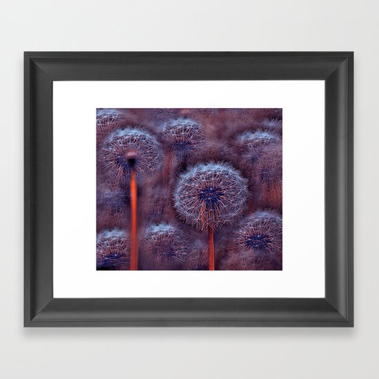 Floral abstract(5). Framed Art Print