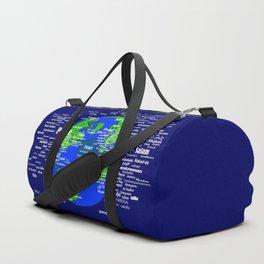Peace on Earth Duffle Bag