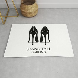Stand Tall Darling Rug