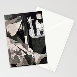 GUERNICA #2 - PABLO PICASSO Stationery Cards