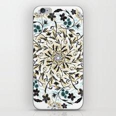 Floral Mandala iPhone & iPod Skin