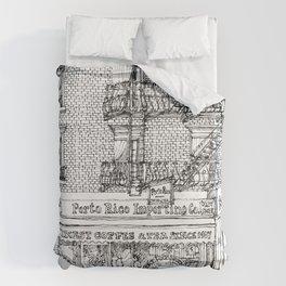 PORTO RICO IMPORT CO, NYC Duvet Cover