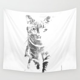 Mr Cat (Grey) Wall Tapestry