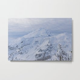 Mt. Baker On New Years Day Metal Print