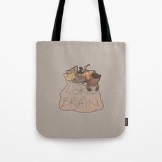 Loki's Brain Tote Bag
