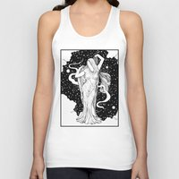 ghost Tank Tops featuring Ghost by Corinne Elyse