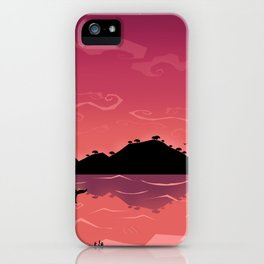 Perfect place for perfect love iPhone Case