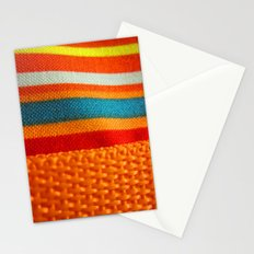 in woven color Stationery Cards