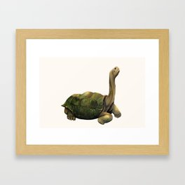 Old George Framed Art Print