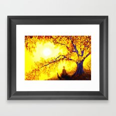 Bless the lord oh my soul and all that is within me Framed Art Print