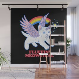 Fluffin' Meowgical Wall Mural