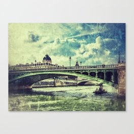 SEINE RIVER Canvas Print