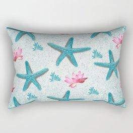 Starfish Wishes Rectangular Pillow