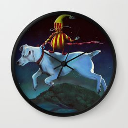 Bryony and the Pillowman Wall Clock