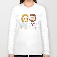 hipster Long Sleeve T-shirts featuring Secretly In Love by Nan Lawson