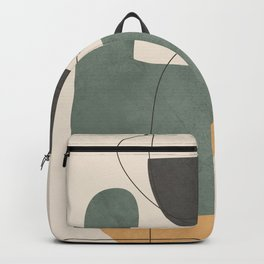 Abstract Minimal Shapes 25 Backpack