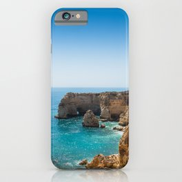 Beach at Lagoa, Algarve, Portugal II iPhone Case
