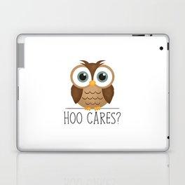 Hoo Cares? Laptop & iPad Skin