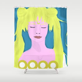 Princess Serenity Shower Curtain