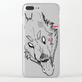 Watch out Clear iPhone Case
