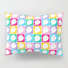 Colourful Little Ghosts Pillow Sham