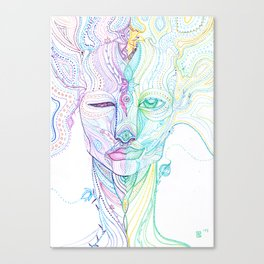 Muscle memory Canvas Print