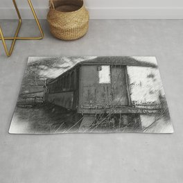 The Old Train Rug