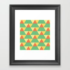 The Trees Change Framed Art Print