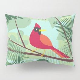 Cardinal Pillow Sham