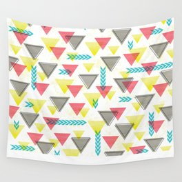 Wild Triangles Wall Tapestry