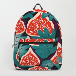 Colorful figs and leaves Backpack