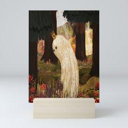Mushroom King Mini Art Print