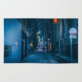 Shibuyascapes at Snowy Night -backalley- Rug