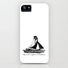 Divine Comedy - Dante Alighieri - Uncharted Sea iPhone Case