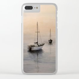 Sea View 271 Clear iPhone Case