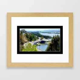 West Tamar Highway Launceston Tasmania Australia Framed Art Print