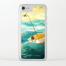 Drifting Away Clear iPhone Case