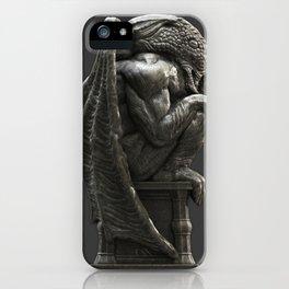 Cthulhu Statuette I iPhone Case