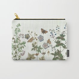 The fragility of living - botanical illustration Carry-All Pouch