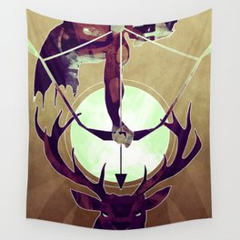 Artemis - The Huntress Wall Tapestry